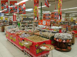 スーパーの商品陳列(改善後)
